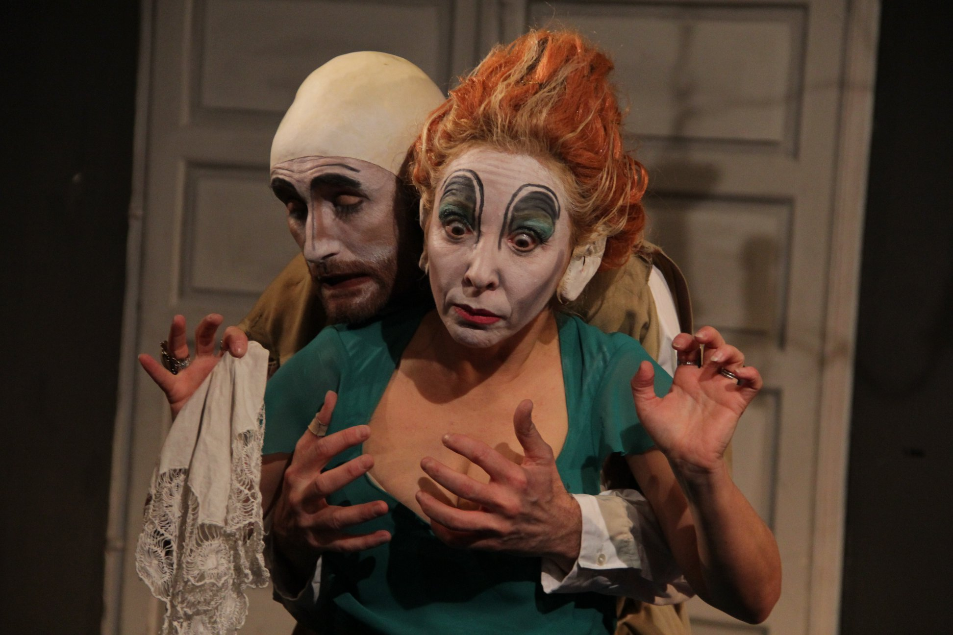 -Ayudante de dirección y Maquillaje de Hugo Álvarez en Tartufo. Teatro Corrientes Azul (Buenos Aires). Temporada 2016.