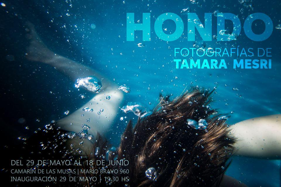 Modelo Fotográfica para HONDO de Tamara Mesri (Buenos Aires) 2018