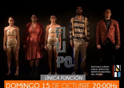 Filipo en Teatro Estudio (La Plata, Argentina)