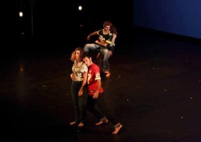 Bailarina en Better Way. Coreografía Carolina Morales. Teatro Central (Sevilla). Junio 2013.