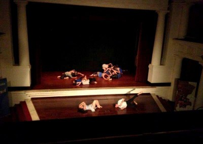 Bailarina en Improvisación Barroca. Coreografía Carolina Morales. Teatro Cajasol (Sevilla). Marzo 2013 (1)