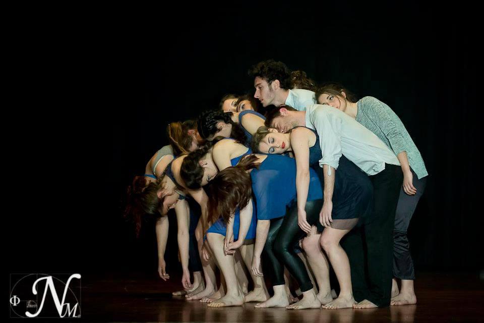 Bailarina en Improvisación Barroca. Coreografía Carolina Morales. Teatro Cajasol (Sevilla). Marzo 2013 (2)