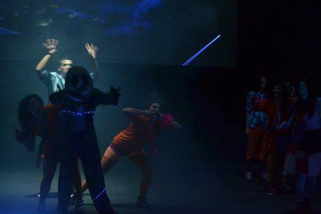 Bailarina en Show Mágico de Disney. Coreografía Emi G. Teatro Alcalá y Olivares. 2010 y 2011 (2)