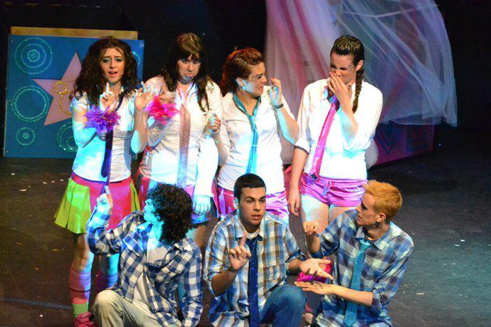 Bailarina en Show mágico de Disney. Coreografía Emi G.Teatro Alcalá de Guadaira (Sevilla). Diciembre 2009. (2)