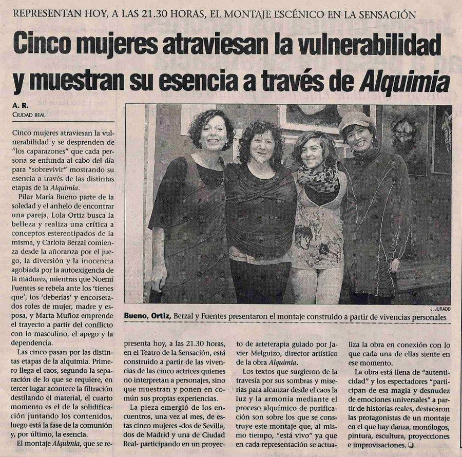 Alquimia Nota de Prensa