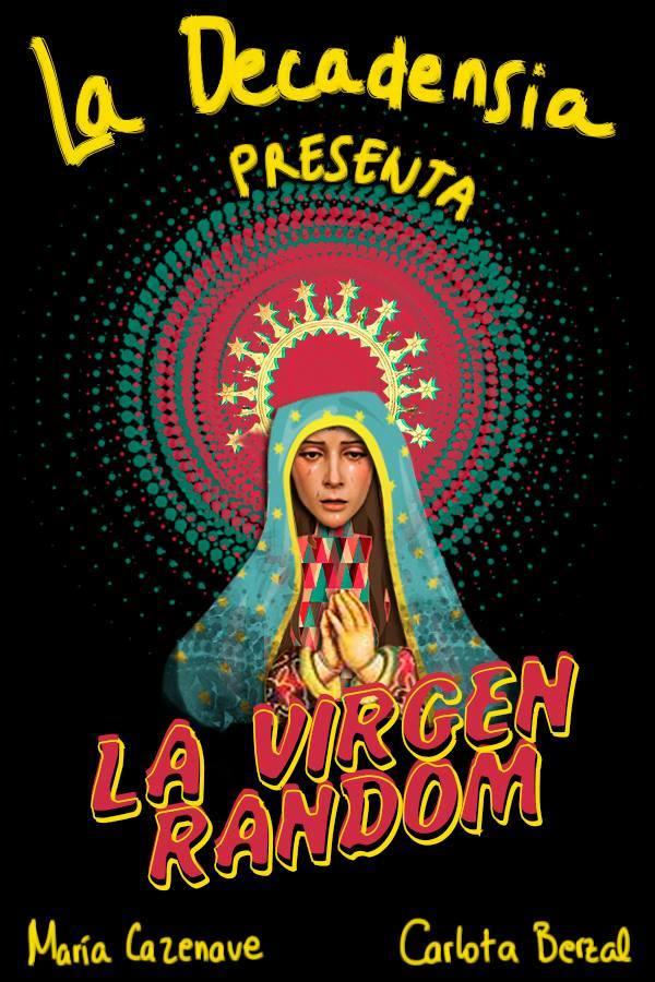 Cartel La Virgen Random