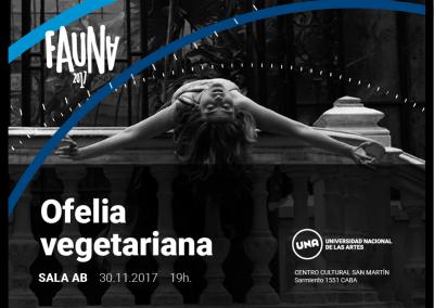 Ofelia Vegetariana en FAUNA (Buenos Aires)
