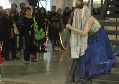 Ofelia Vegetariana en Festival Internacional de Danza Independiente. Harold Conti (Buenos Aires)