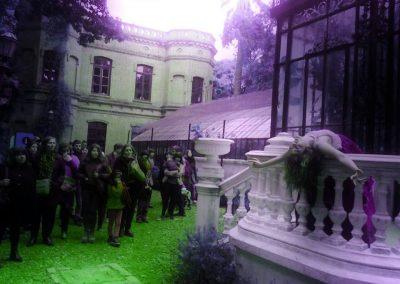 Ofelia Vegetariana en Jardín Botánico (Buenos Aires)
