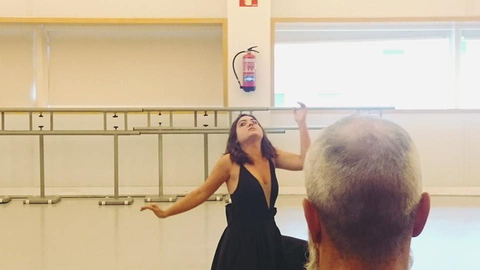 Ofelia Vegetariana en Certámen Coreográfico. Teatros del Canal (Madrid, España)