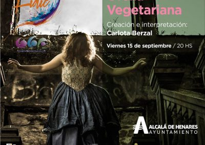 Ofelia Vegetariana en Festival Internacional de Danza Independiente (Buenos Aires)